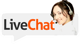 Live chat with our support team