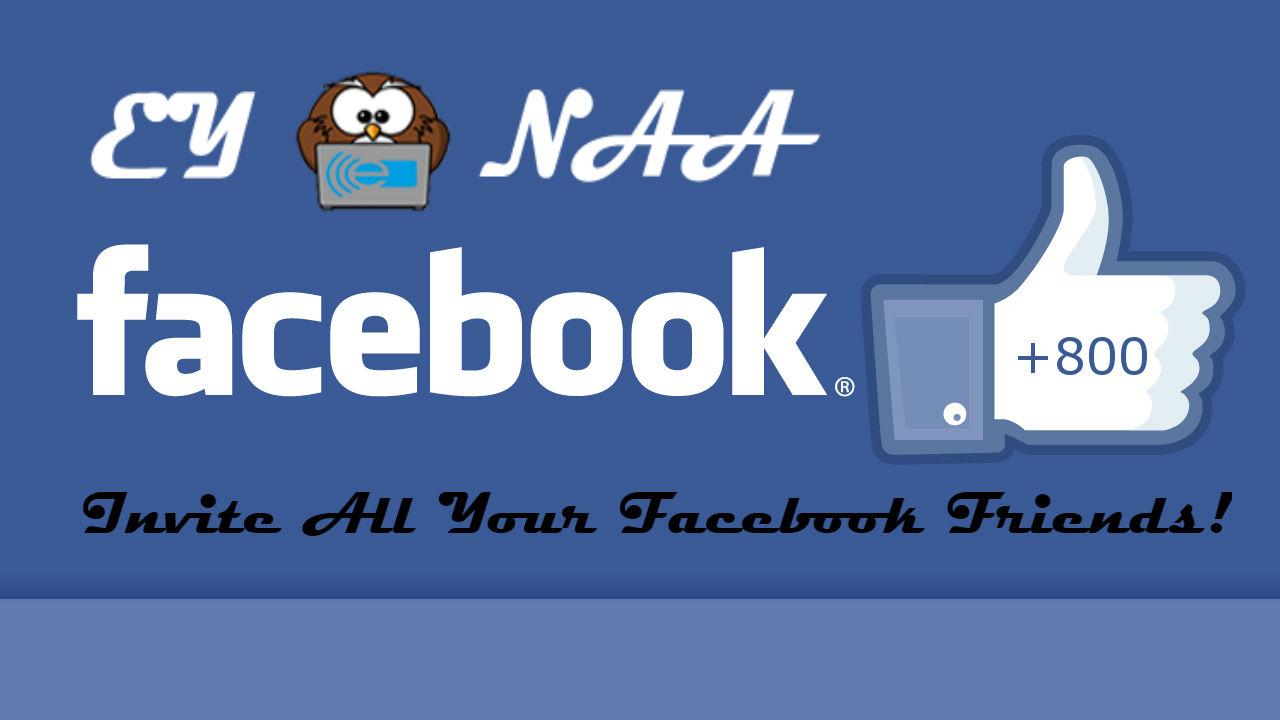 Invite Facebook Friends